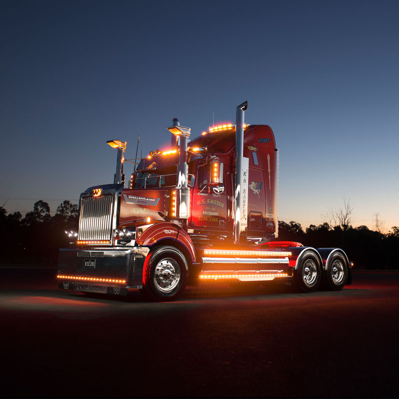 Easter Celebrates With Customised Western Star Penske
